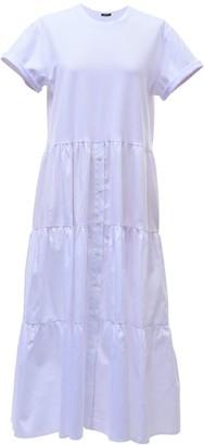 Z.G.Est T-Shirt Dress Ira In White