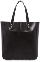Orla Kiely Sixties Stem Punched Leather Burdock Bag