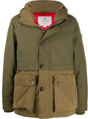 Woolrich Teton layered hooded parka