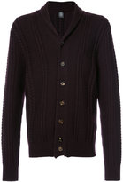Eleventy V-neck knitted cardigan - men - Virgin Wool - S