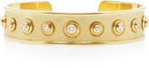 Ashley Mccormick Ashley McCormick Florentine 18K Gold Diamond Cuff