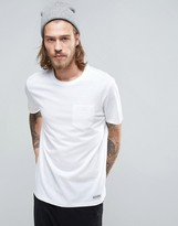Element Basic Pocket T-shirt In White