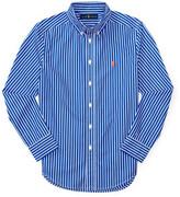 Polo Ralph Lauren Striped Cotton Poplin Shirt (8-14 Years)