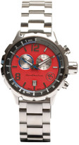 Bausele Red Dial/Silver Strap