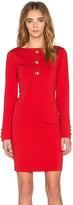 Love Moschino Long Sleeve Mini Dress