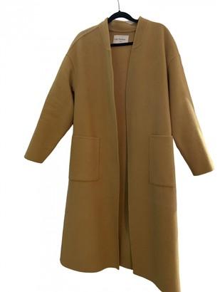 Les Petites Yellow Wool Coats