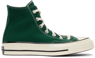 Converse Green Seasonal Color Chuck 70 High Sneakers