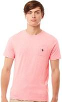 U.S. POLO ASSN. Mens York T-Shirt Candy Pink