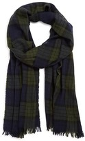 Drakes Plaid Scarf
