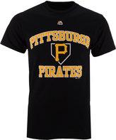 Majestic Men's Pittsburgh Pirates Hit and Run T-Shirt