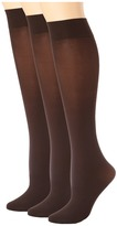 Hue Soft Opaque Knee High 3-Pack