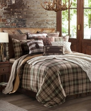 HiEnd Accents Huntsman 3-Pc Twin Comforter Set Bedding