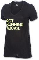 Nike Women's Not Running Sucks T-Shirt