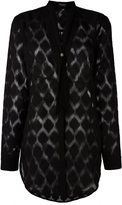 Marcelo Burlon County of Milan 'Tina' shirt - women - Polyester/Viscose - S