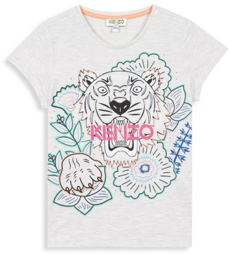 Kenzo Little Girl's & Girl's Tiger T-Shirt