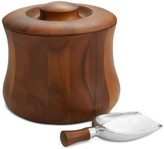 Nambe 3-Pc. Nara Lidded Ice Bucket & Shovel Scoop Set