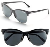 Smith Optics Women's 'Rebel' 57Mm Cat Eye Sunglasses - Black/ Polar Gray