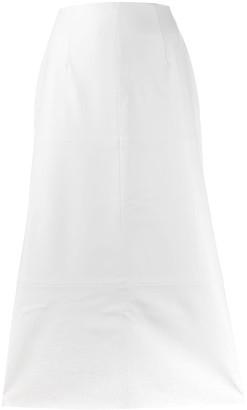 A.W.A.K.E. Mode Flared Midi Skirt