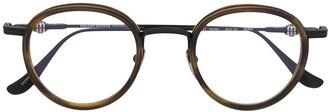 Chrome Hearts Gush round glasses