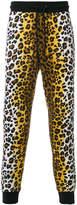 Love Moschino leopard print track pants