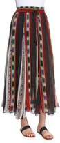 Mes Demoiselles Tiyi Striped Maxi Skirt, Stripes Print