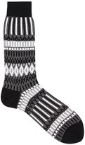 Ayame X The C53 Monochrome Cotton Blend Socks