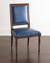 Horchow Massoud Ingram Leather Dining Chair, B6