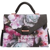Ted Baker Ethereal Posie Faux Leather Satchel