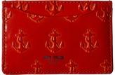 Jack Spade Embossed Anchor Credit Card Holder Credit card Wallet
