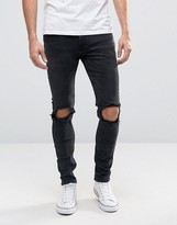 ONLY & SONS Jeans in Skinny Fit with Rip Knee Detail