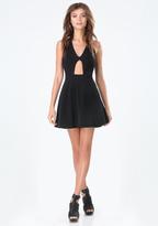 Bebe Sydney Strappy Back Dress