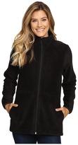 Woolrich Andes Fleece Long Jacket Women's Coat