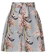 Zimmermann Floral Trapeze Mini Skirt