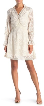 Fanco Long Sleeve Fitted Lace Dress