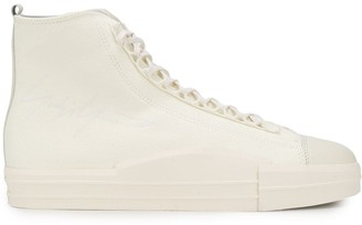 Y-3 Lace-Up Detail Sneakers