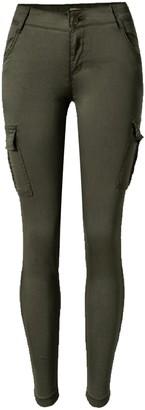 Goodnight Macaroon 'Simmi' Utility Skinny Cargo Pants