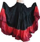 Wevez® Women's ATS Tribal Dip Dye 25 Yard Skirt