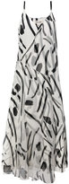 Diane von Furstenberg abstract print dress