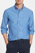 Nordstrom Men's Smartcare(TM) Trim Fit Oxford Non-Iron Sport Shirt