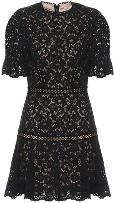 Jonathan Simkhai Holly floral-lace minidress