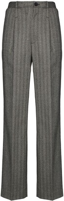 Commission Pinstriped Trousers