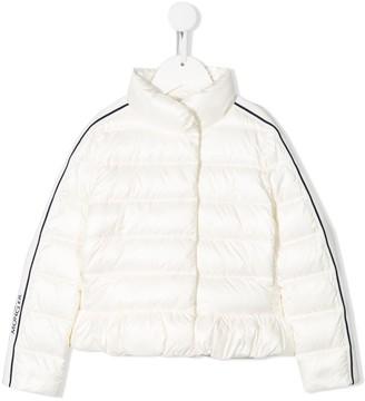 Moncler Enfant Padded Peplum Jacket
