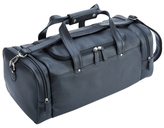 Royce Leather Pebbled Travel Duffel Bag