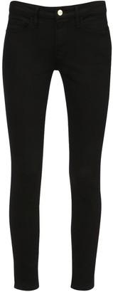 Frame Low Rise Skinny Cotton Denim Jeans