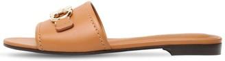 Salvatore Ferragamo 10mm Rhodes Leather Slides
