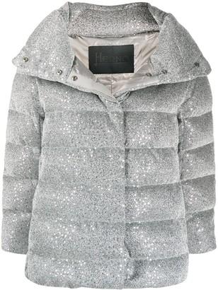 Herno Metallic Padded Jacket