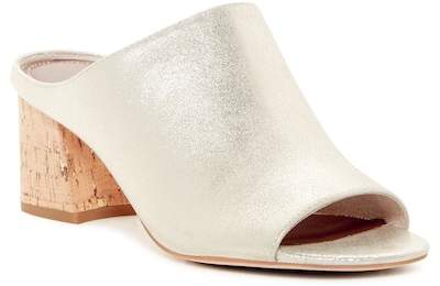 Donald J Pliner Ellis Metallic Open Toe Mule