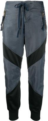 Greg Lauren Striped Workwear Trousers