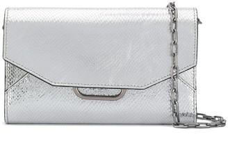 Isabel Marant Kyloe metallic crossbody bag