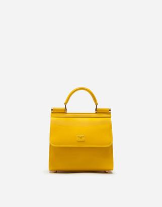 Dolce & Gabbana Sicily 58 Mini Bag In Calfskin